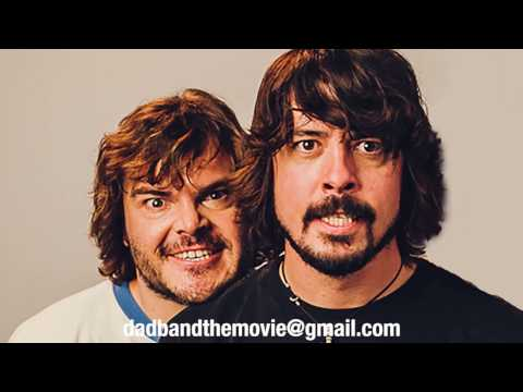 Dave Grohl and Jack Black are in a dad band