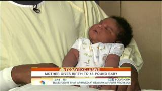 16 Pound Baby Born In Texas