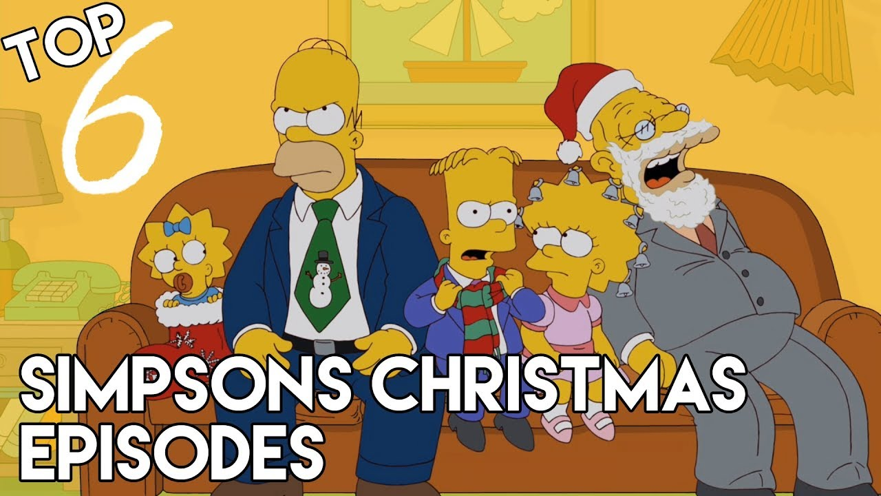 The Simpsons Christmas Episodes.Top 6 Simpsons Christmas Episodes