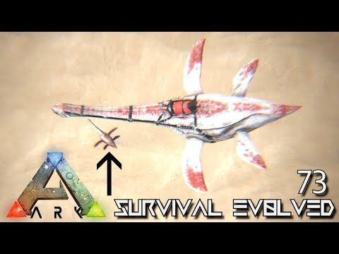ARK: SURVIVAL EVOLVED - ALPHA PLESIOSAUR BABY BREEDING E73 !!! ( ARK EXTINCTION CORE MODDED )