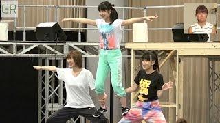 『GREEN ROOM』#15 MC:徳永千奈美、夏焼雅 ゲストMC:山岸理子(つばき...