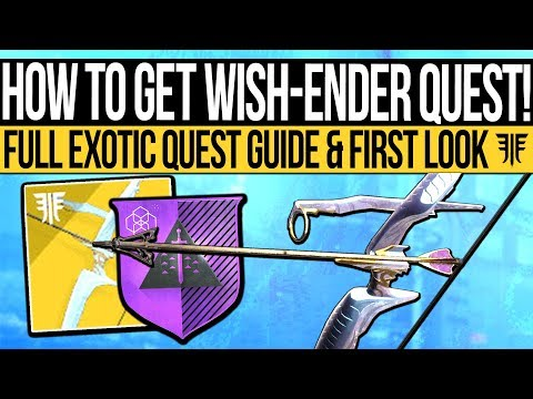 Destiny 2 | WISH ENDER QUEST GUIDE! - How to Get Wish-Ender Exotic, Dreaming Tokens & Full Guide!