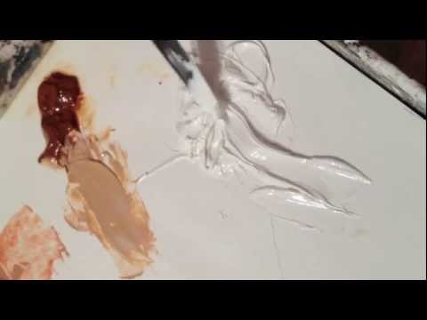 Lead White Oil Paint by Rublev Natural Pigments