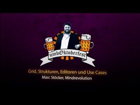umbOktoberfest 2015 - Umbraco Grid mit Marc von Mindrevolution