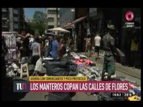 Canal 9 - Venta ilegal en Av. Avellaneda