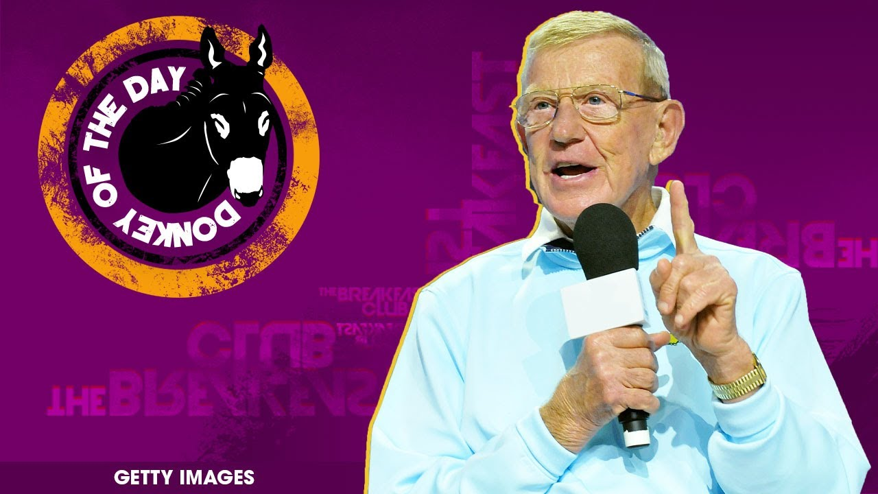 Lou Holtz Encourages College Football Players To Risk Coronavirus