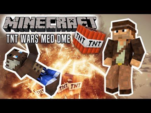 TNT WARS MED DEN MANDIGE ELG! - Minecraft Dansk TNT Wars