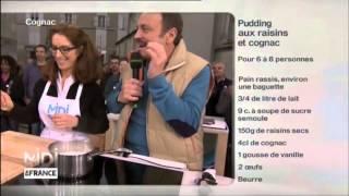 Recette : Pudding Aux Raisins Et Cognac