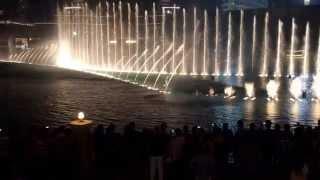Camera test - The Dubai Fountain night show