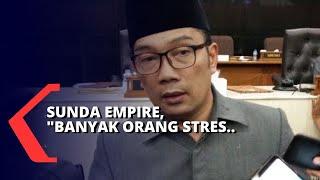 Geger Kerajaan Sunda Empire, Ridwan Kamil Sebut Sudah Meresahkan Warga: Banyak Orang Stress!