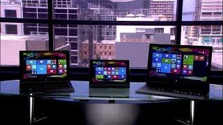 Lenovo Yoga Tablet 2 con Windows: tres tabletas con cualidades sobresalientes [video](Mientras que la Yoga Tablet 2 de 8 pulgadas te permite usar prácticamente cualquier objeto como lápiz óptico, las Yoga tablet 2 de 10 pulgadas y 13 pulgadas ..., 2015-06-23T18:30:50.000Z)