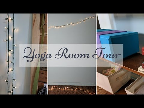 DIY Yoga Room Tour (2018)