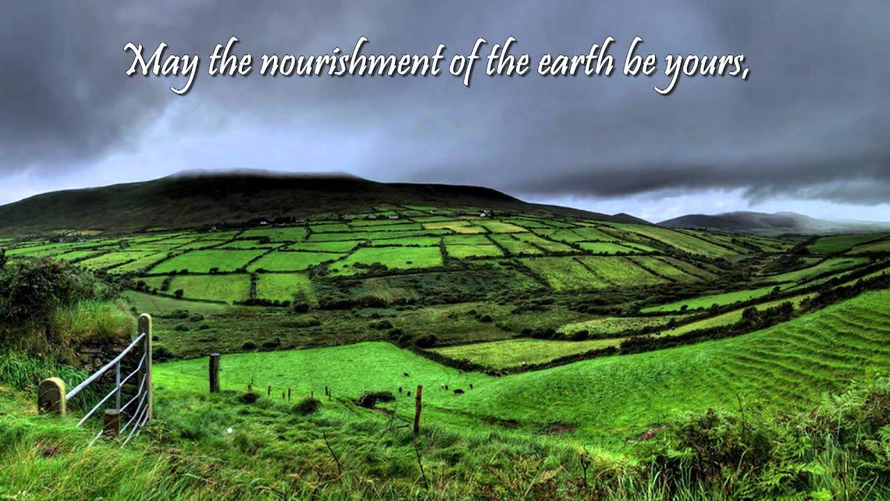 Irish Blessing Beannacht John Odonohue Youtube