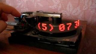 Часы из старого жесткого диска
