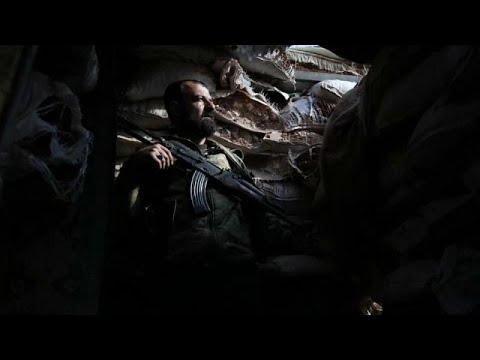 شاهد: عناصر الجبهة الوطنية لتحرير سوريا في حي الراشدين بحلب …  - نشر قبل 2 ساعة
