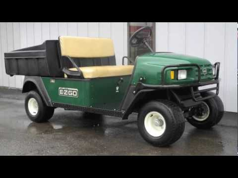 2009 E-Z-GO MPT 1200 Utility Cart - YouTube on