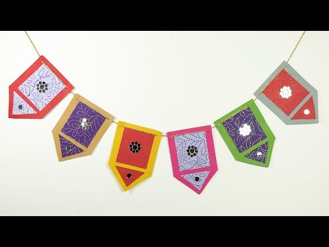 How to Make Toran, Bandarwal - DIY Diwali Decoration Idea