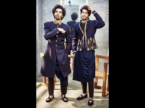 Indo western Dresses for Men | Indo western Sherwani kurta collection for Men 2019 | trending spot