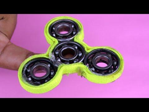 How to Make a FIDGET Spinner | DIY Hand spinner
