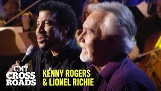 "Kenny Rogers & Lionel Richie Perform ""Lady"" Live 