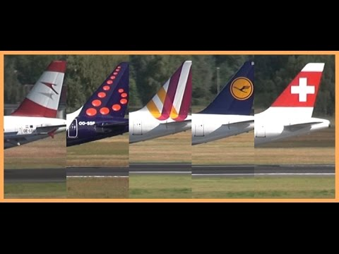 Lufthansa Group - 5 Airlines / 1 Landing