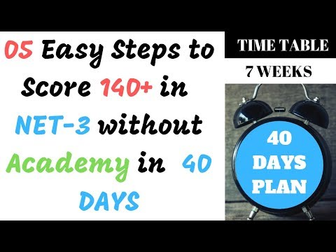 Download How To Prepare For Net In 1 Week Nust Entrance Test Tips