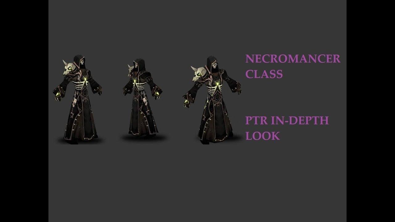 Necromancer Class PTR In Depth Look
