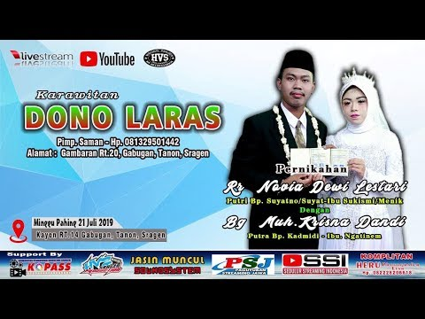 Live Streaming Karawitan DONO LARAS // JASIN MUNCUL soundbalap liar // HVS SRAGEN CREW 2