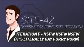 SCP Tale: Iteration F (NSFW! IT'S LITERALLY GAY FURRY PORN)
