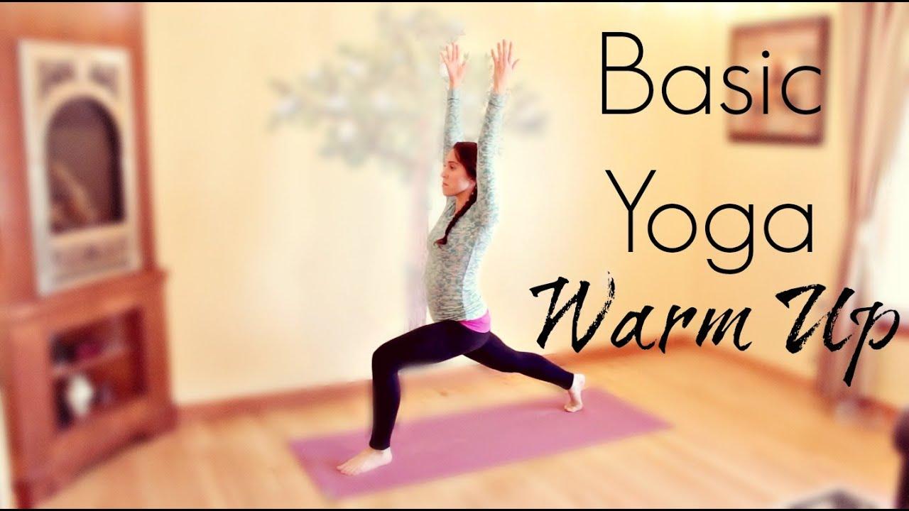 10 Min Yoga Warm Up | Basic Yoga Flow Warm Up Routine ...