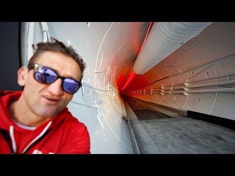 Exploring Elon Musk's Boring TUnnel