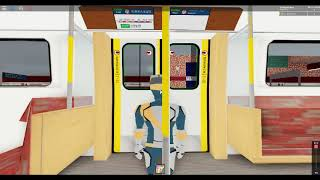 Roblox, Star Line Automatic, Mrt ride from lo fu ngam to university robloton station, 3X Elevators