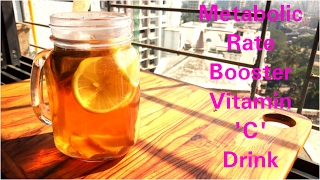 Metabolic rate booster Drink,Rapid inch loss in 3 days, Afternoon Detox Drink, Dr shalini