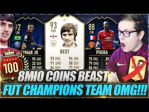 FIFA 19: ES IST SOWEIT.. NEUES 8 MIO FUT CHAMPIONS TEAM!! 🔥🔥 FIFA 19 Ultimate Team Weekend League