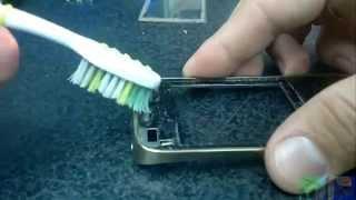 Nokia asha 202 Замена сенсора Sensor replacement(Как заменить сенсор, тачскрин NOK How to touchscreen replace at home Внимание! Данное видео не гарантирует Вам полного или..., 2013-10-14T07:00:55.000Z)