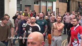 +18 TOMMY ROBINSON EDL PLAYING RUGBY : SPEAKERS CORNER