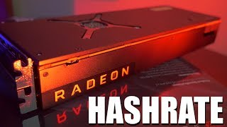 AMD RX Vega 64 Mining Review | Hashrate | Power Draw | Overclocking