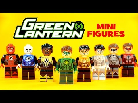 LEGO Green Lantern The New Guardians KnockOff Minifigures (Bootleg)