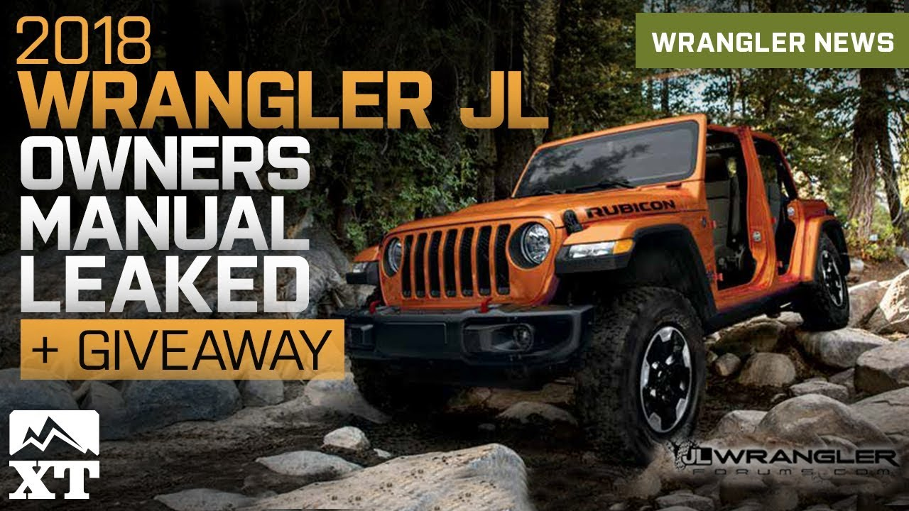 2018 jeep wrangler jl owners manual guide leaked youtube rh youtube com 2010 jeep wrangler unlimited sahara owners manual 2010 jeep wrangler unlimited sahara owners manual