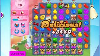 Candy Crush Saga Level 2067 30 moves NO BOOSTERS Cookie
