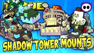 HOW TO GET ALL SHADOW TOWER BOSS MOUNT DROPS in TROVE for FREE!