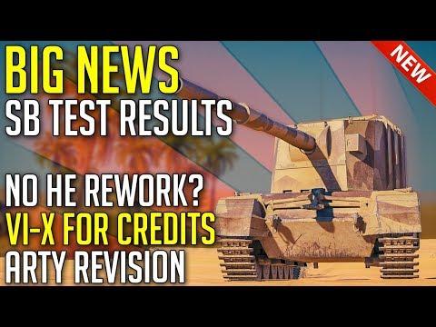 BIG NEWS, Results From Sandbox Test | World Of Tanks 2.0 New Balance Update