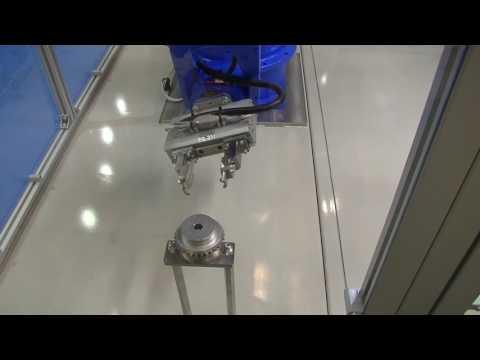 齒輪與軸的拾取與組裝 (TVS3)