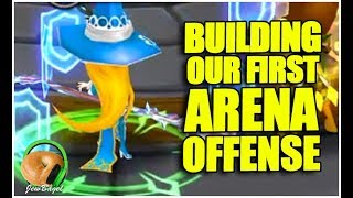 SUMMONERS WAR : Building our First Arena Offense (EU Server)