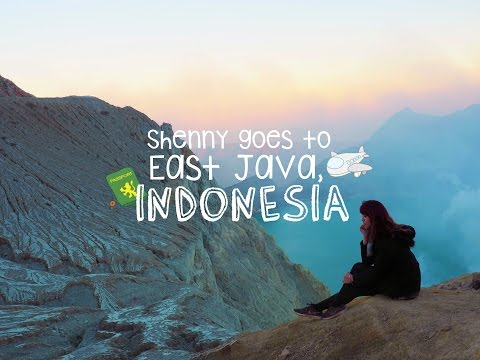 SHENNY IN INDONESIA, EAST JAVA!