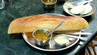 "Доса-кафе  ""Madras Hotel""  (Ришикеш, Индия)"