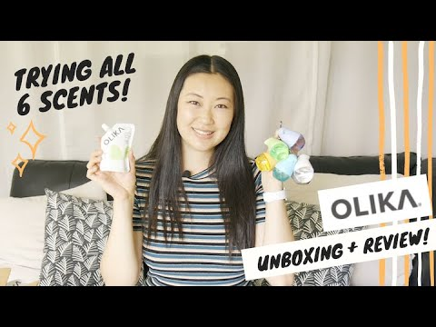 Download OLIKA Unboxing and Review | Trying All 6 Scents of Olika | Olika Hand Sanitizer Review