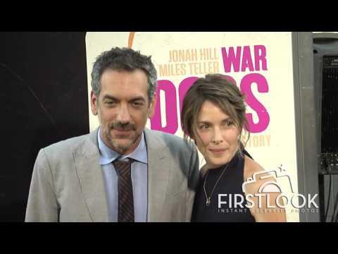 Todd Phillips at War Dogs LA premiere