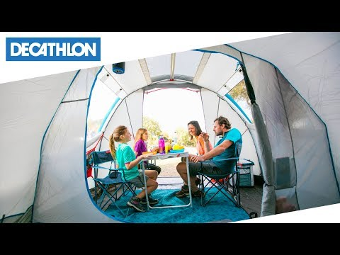 e80c37719455 Tenda da campeggio Air Seconds Family 4.1 XL Quechua | Decathlon Italia
