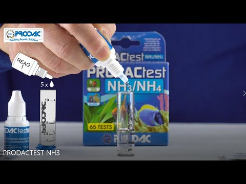 PRODACTEST NH3/4  How To Use The Test Kit
